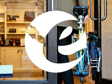 folding bike ebike tips logo
